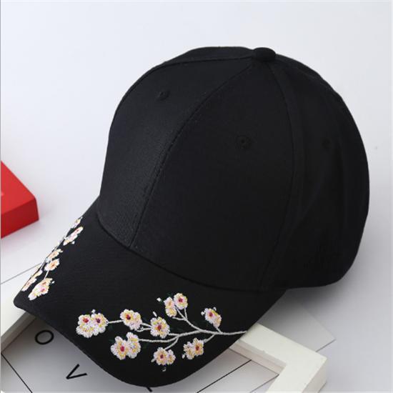 Hombres mujeres algodón flor bordado gorra de béisbol con curva sombra  sombrero sol - comprar a precios bajos en la tienda en línea Joom df720a3d759
