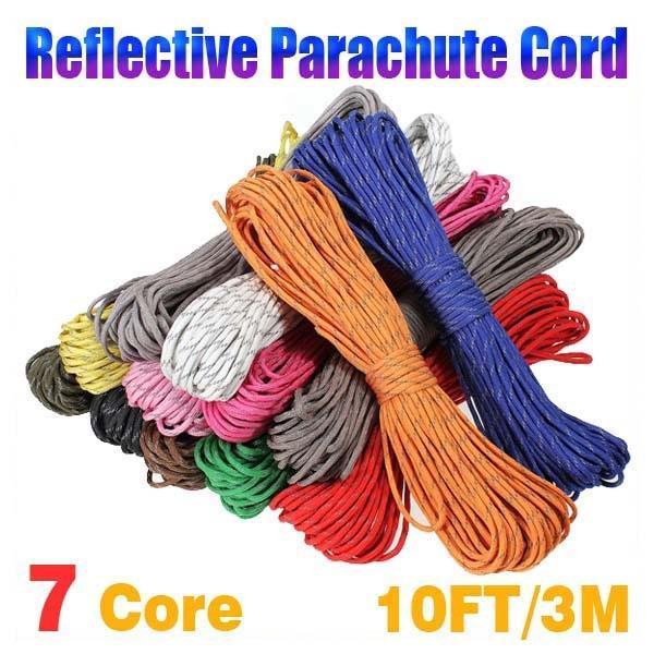High Quality 550lb 3m 7 Strand Core Umbrella Paracord Survival Rope Tent Cord
