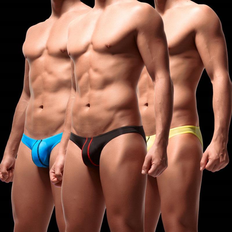 Unterwäsche Unterhosen Slips Riemen Bikini Männer Niedrige Taille Nahtlos