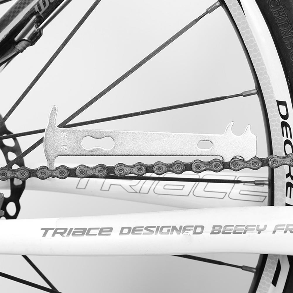 Bicycle Chain Checker Mountain Road Bike MTB Chains Gauge Measurement Ruler