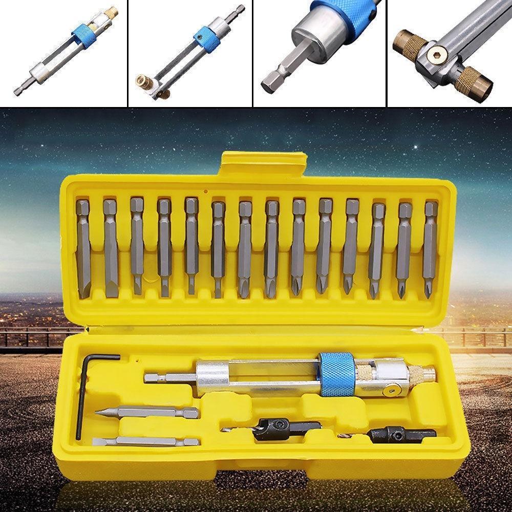 Drill Bit Flip Tool Kit /& Drive 【50/% OFF Today】