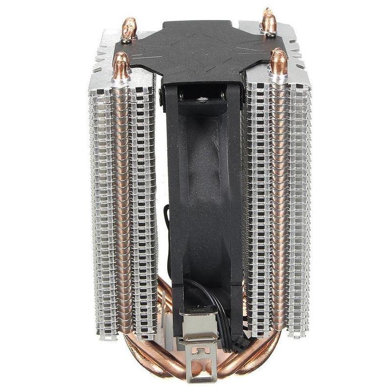 4 Heatpipe CPU Cooler Heat Sink for Intel LGA 1150 1151 1155 775 1156 AMD A2Z2