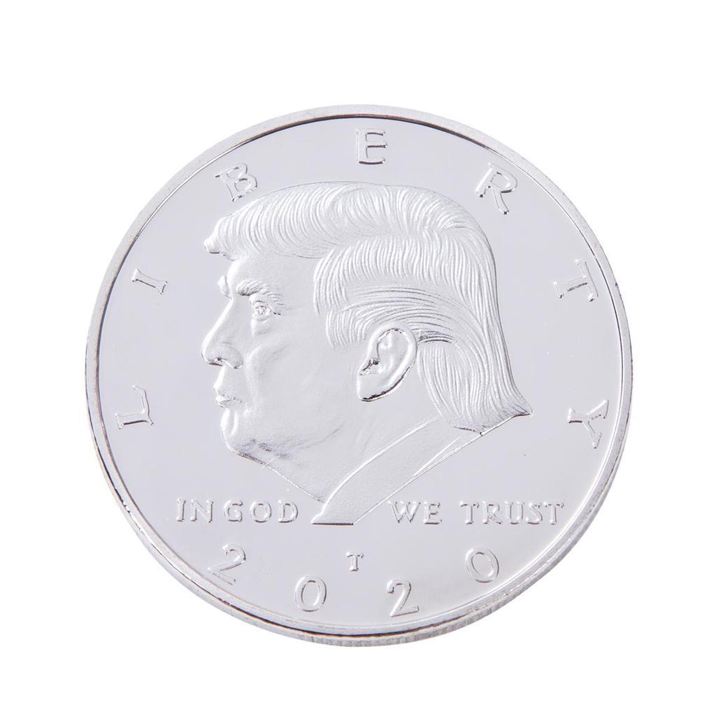 2020 VOTE TRUMP OLIGARCHY   ART ROUND SILV Commemorative Coins