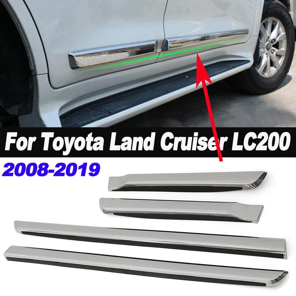 Steel Car Door Body Handle Cover For Toyota Land Cruiser Prado FJ150 10-18 S