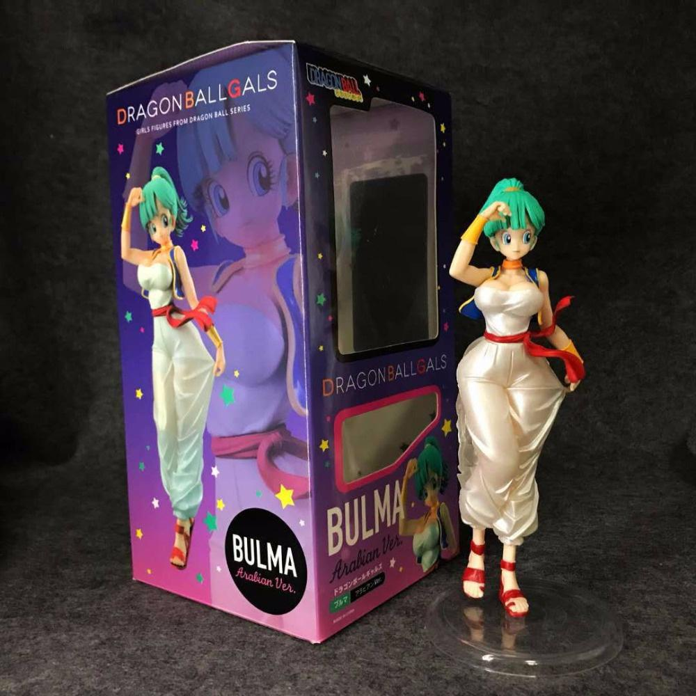 PVC Figure 20cm Statue Decoration Toy Dragon Ball Z Gals Bulma Arabian Ver