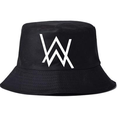 a375cdc64cb Alan Walker DJ Bucket Hats Boonie Japanese Hat Sad Boys Bob Black Bucket Hat  Hip Hop