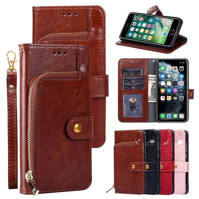 Wallet Case for Xiaomi Redmi 8A 7A 6A 4X Redmi Note7 8T 9S 8 Pro OPPO A1K A9 A5 A31 2020 OPPO Reno Flip Leather Cover Business Handbag