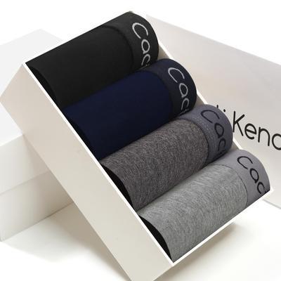 Men's Underwear Cotton Sexy Boxed Pants Breathable Antibacterial Pants