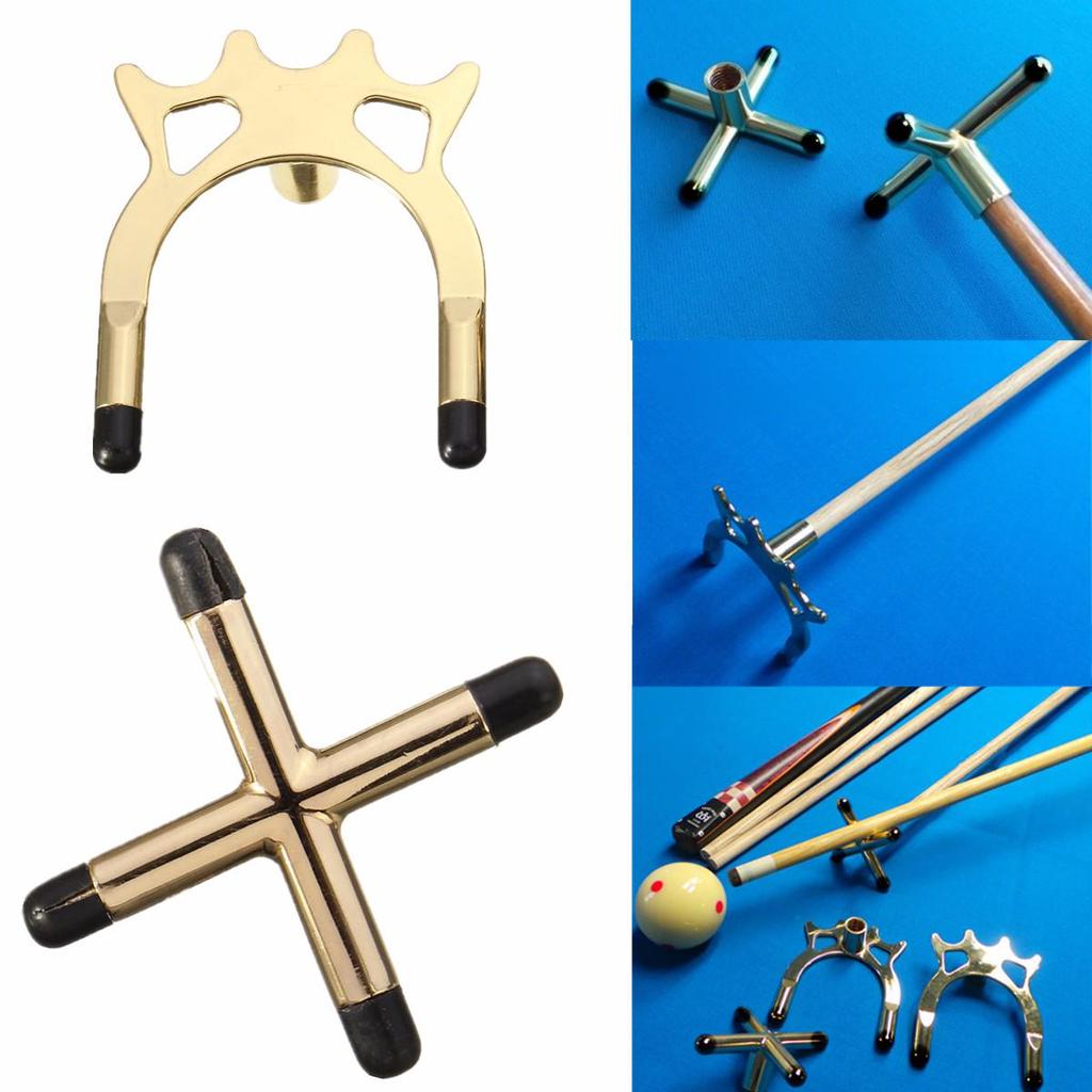 Brass Cross Rest Head for Snooker or Pool