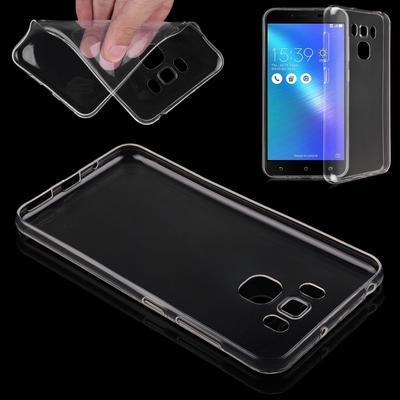 Ultra Thin Clear Transparent TPU Gel Soft Case Cover Skin for Asus Zenfone 3 Max ZC553KL