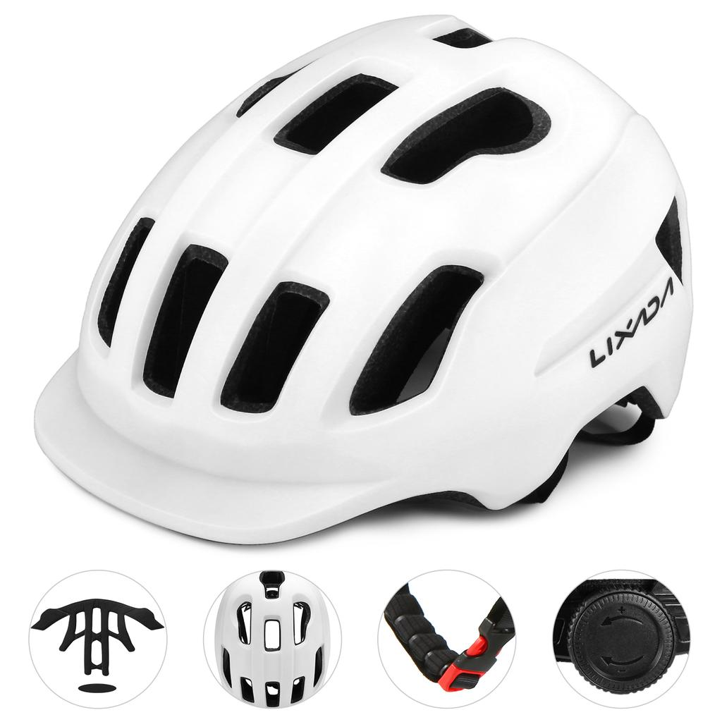 Bike Helmet Mountain Sports Cycle Safety Bicycle Sports Outdoor Visor Unisex New