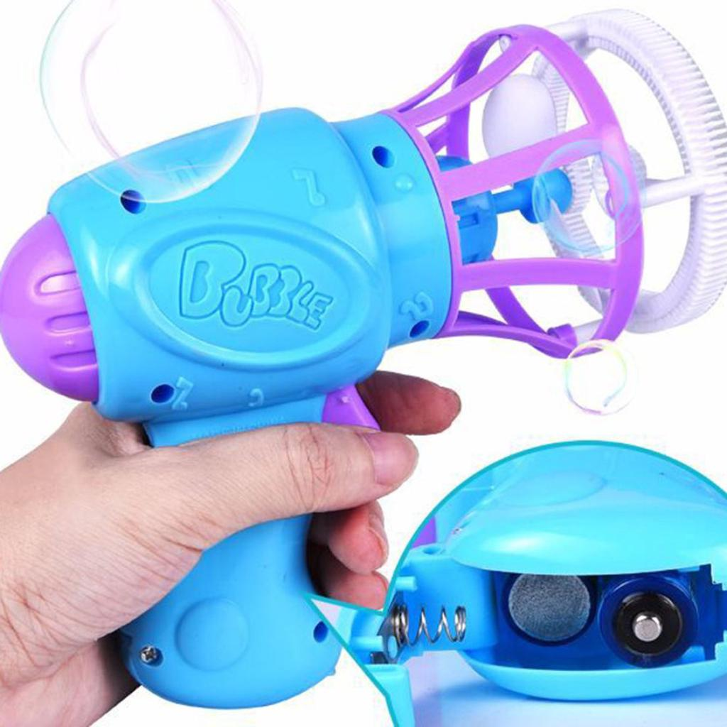 Funny Electric Gun Toys Bubble Machine Automatic Water In Summer Children Toys