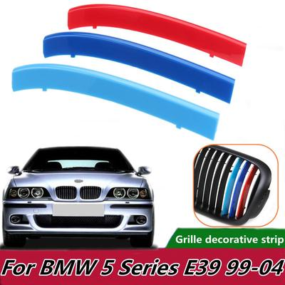 For BMW 5 Series E39 M5 1997-2003 Car Front Grille Cover Trim Kidney Grille Clip