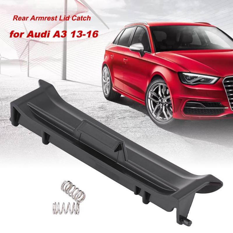 Black Car Inner Console Center Armrest Latch Lock Lid Clip FIT Audi A4 S4 A6 C5