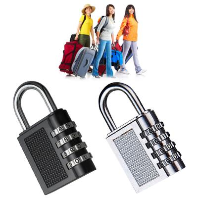 4 chiffres Heavy Duty Combinaison Sécurité Cadenas pour bagages Shed Gate Gym Casier