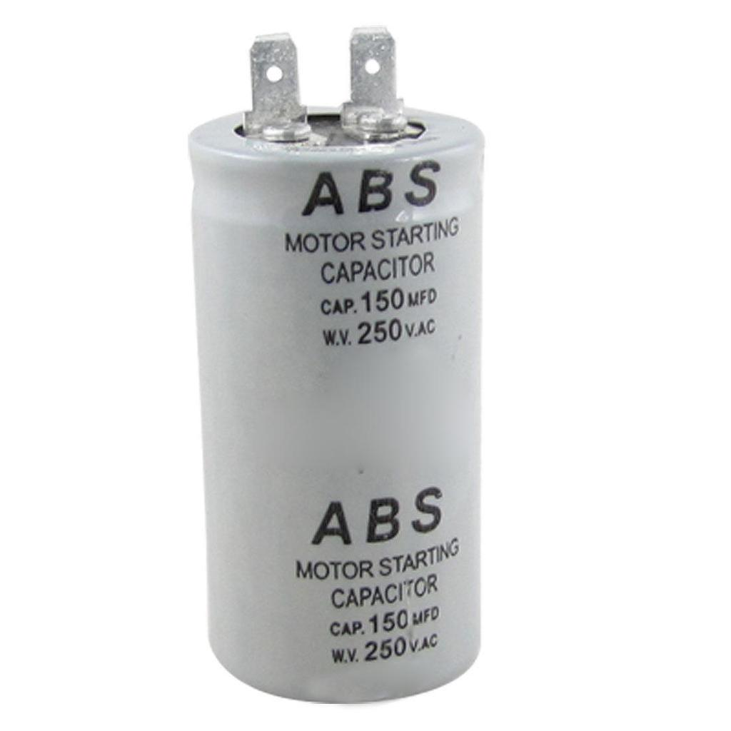 condensatori ABS di serie 150MFD 150uF 250V AC motore condensatore di avviamento
