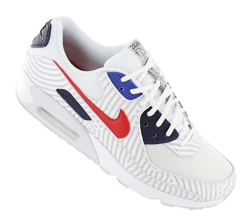 Nike Air Max 90 - Euro Tour - Men Shoes White CW7574-100 Sneakers Sneakers ORIGINAL