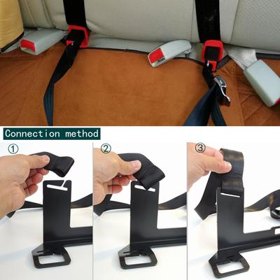 ISOFIX LATCH Belt Connector Soft Interface Hook Type Fix Baby Child Safety Seat