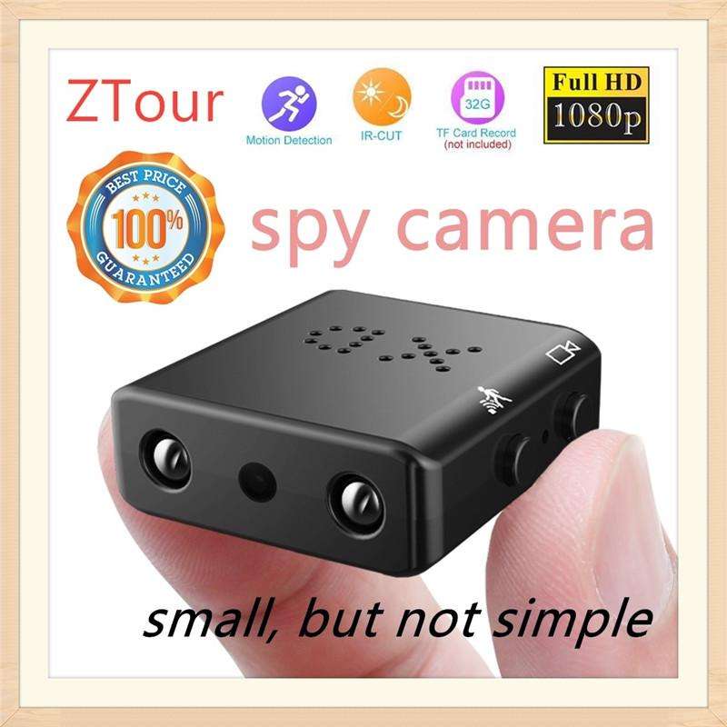 Wireless 1080P HD 940NM Night vision mini spy hidden IP WIFI micro nanny camera