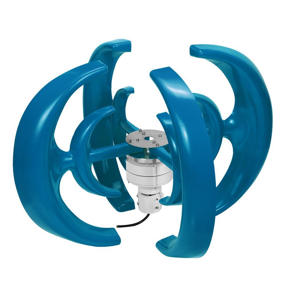 4200W 12//24V 4 Blades Rotor Lantern Wind Turbines Generator Unit Vertical