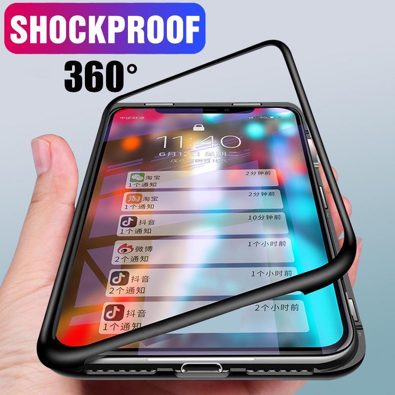 360 Полная защита ПК - Закаленный стеклянный телефон Чехол для iPhone Xiaomi Huawei Samsung VIVO OPPO Redmi фото