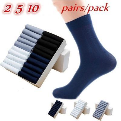 f00da4eafc203 Бамбуковое волокно стильный Мужской дезодорант ультра-тонкий 10pairs летом  бизнес длинные носки