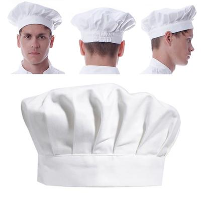 Chef alto sombrero disfraces adultos Chefs cocinero blanco accesorios traje  multicolor b01be6d8663