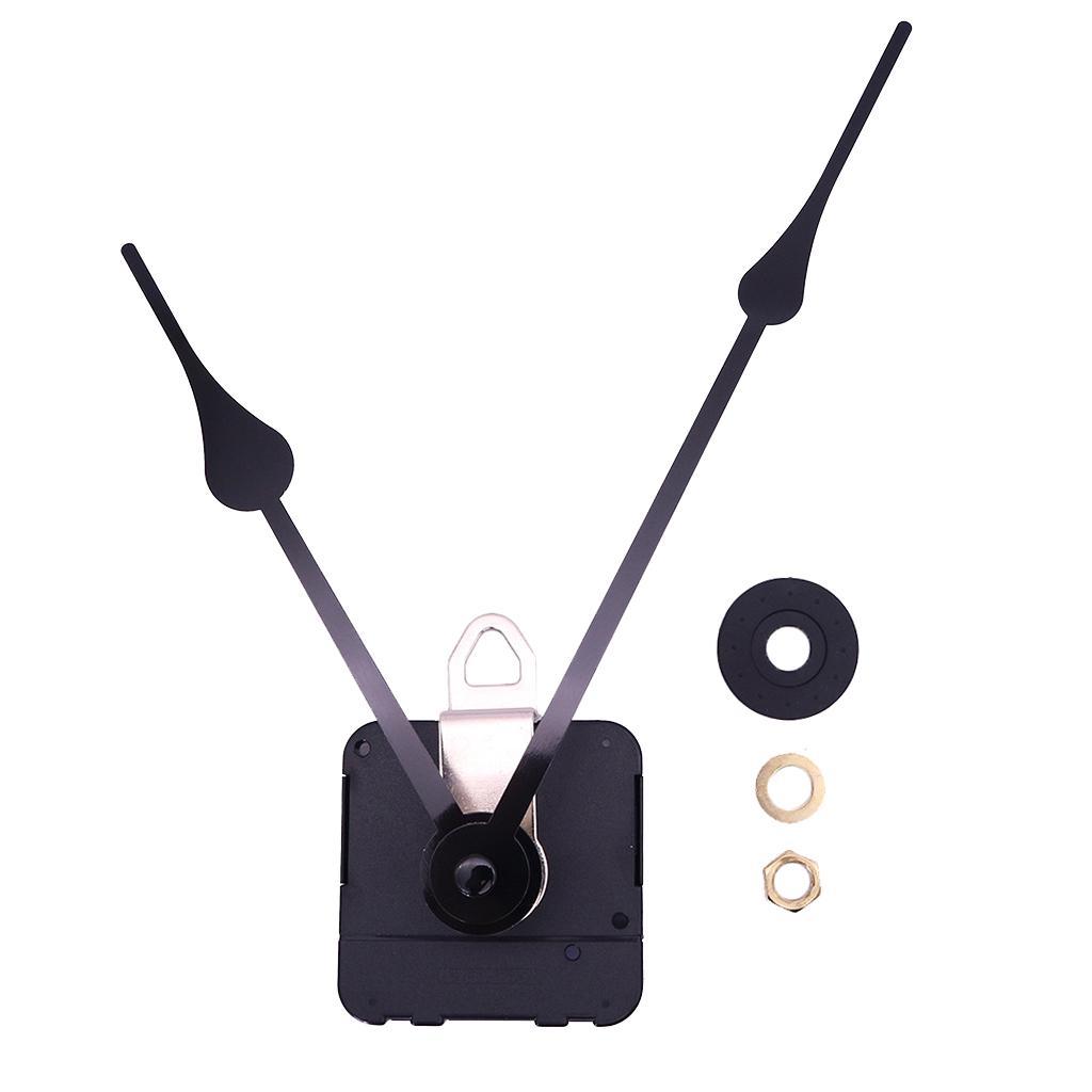 20mm Long Shaft Black /& Red Hands Clock Movement Mechanism