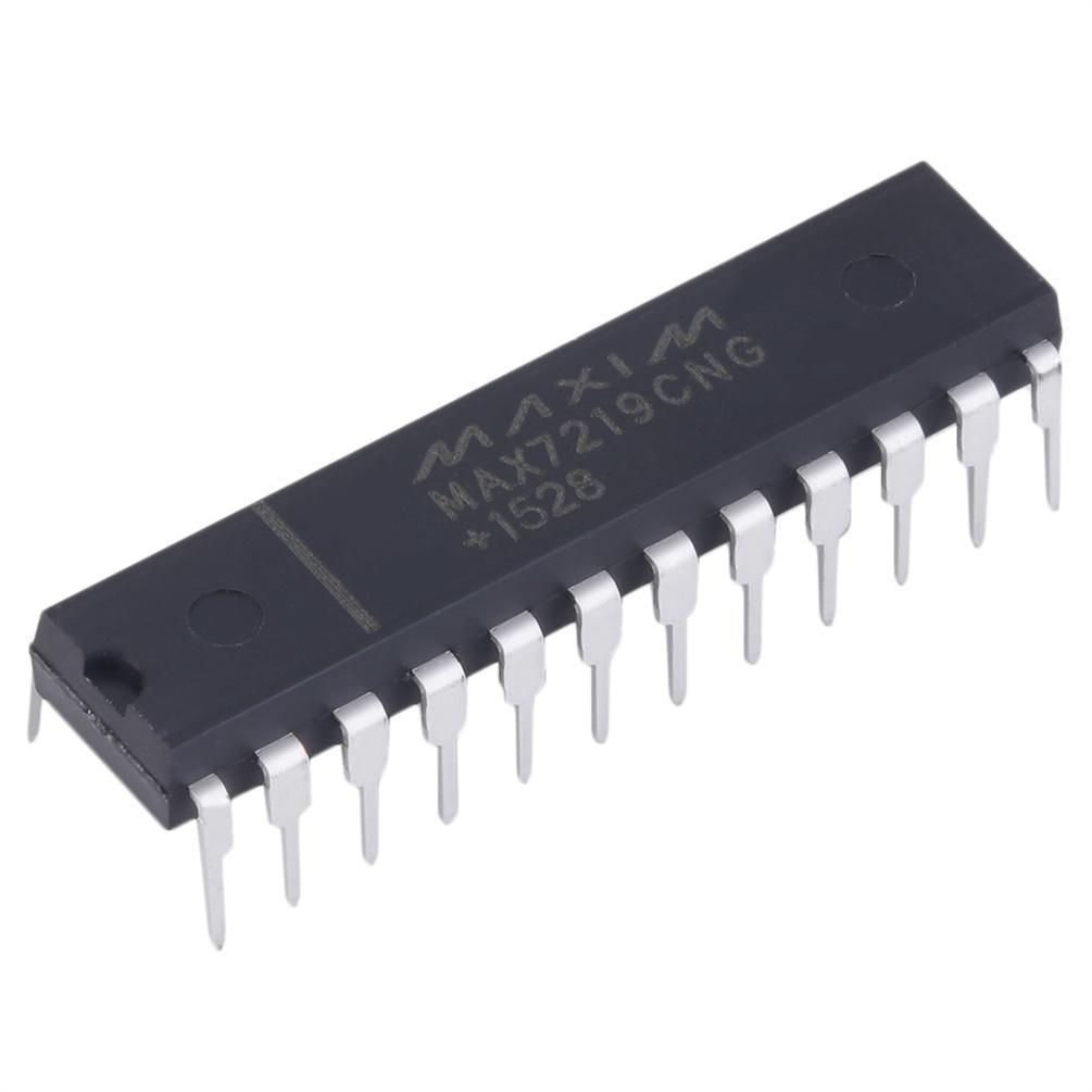 10PCS LED Display Drivers IC MAXIM DIP-24 MAX7219CNG MAX7219CNG+