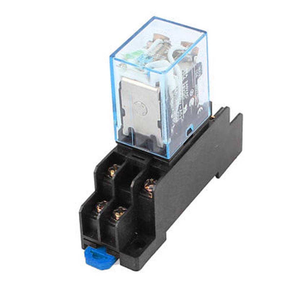 2PCS X LY2NJ J LY2N LY2 AC 200V//220V 8PIN 10A 240VAC 28VDC Power Relay Coil
