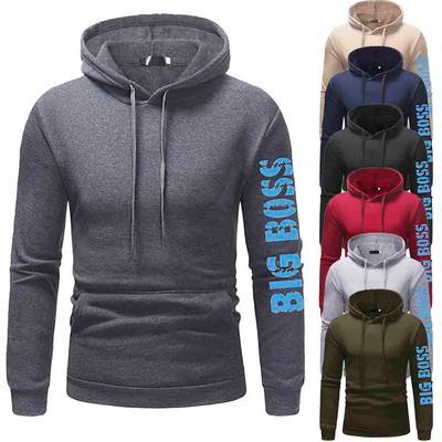 Men/'s Winter Hoodie Hooded Coats Jacket Sweater Sweatshirt Jumper Tops Outwear