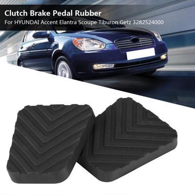 2x OEM Hyundai Brake /& Clutch Pedal Pad Cover Accent Elantra Scoupe Tiburon