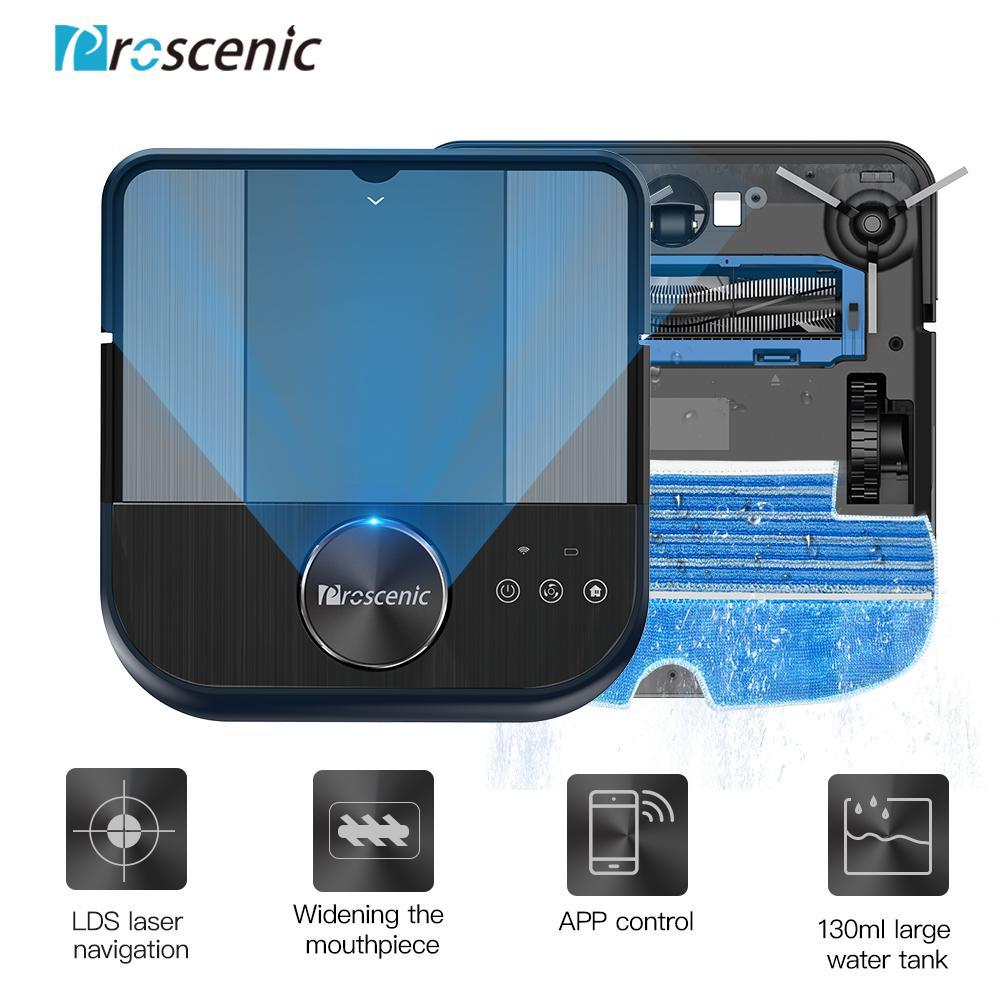 Proscenic D500 LDS Роботизированный пылесос,2000Pa Макс всасывания , Wi-Fi Подключение, Навигация Робот Smart Запланированный тип App Control – купить по низким ценам в интернет-магазине Joom