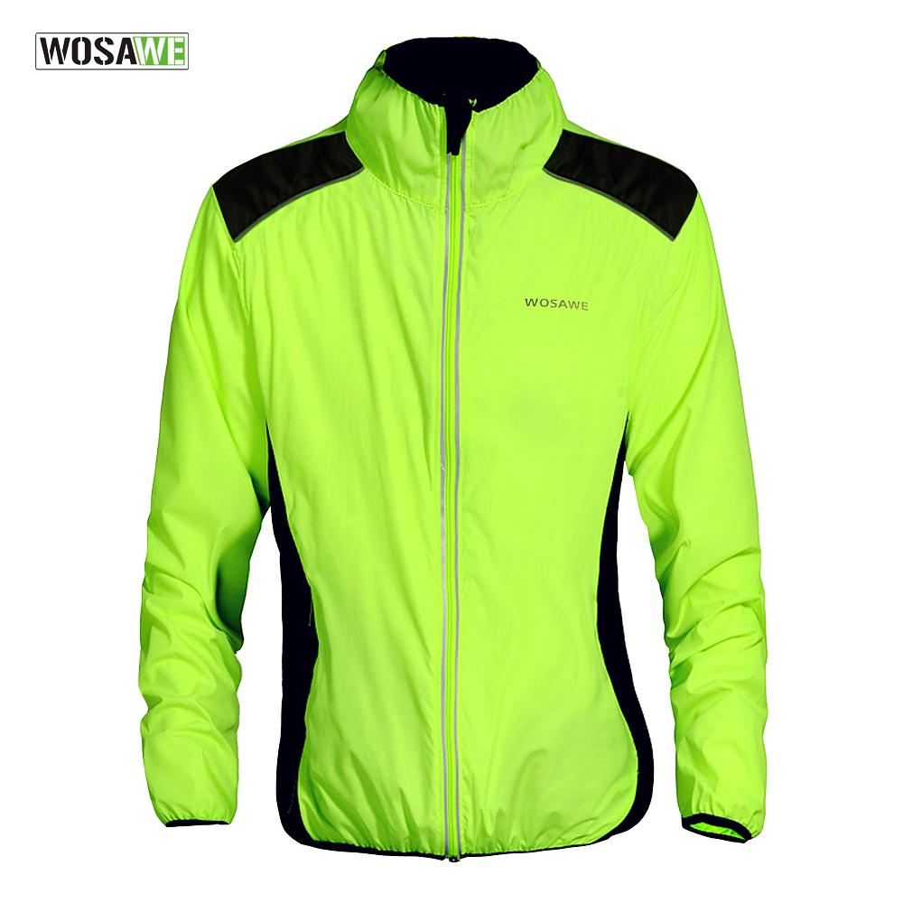 Windproof Cycling Jacket Men Women Riding Waterproof Bike Clothing Long Sleeve