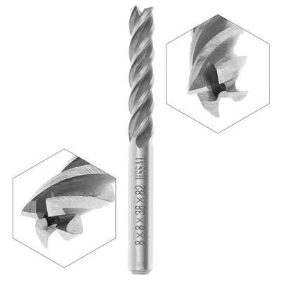 50mm All Sizes cutting mill YG8 HSS 3//4//6 Flute End Mills 6mm