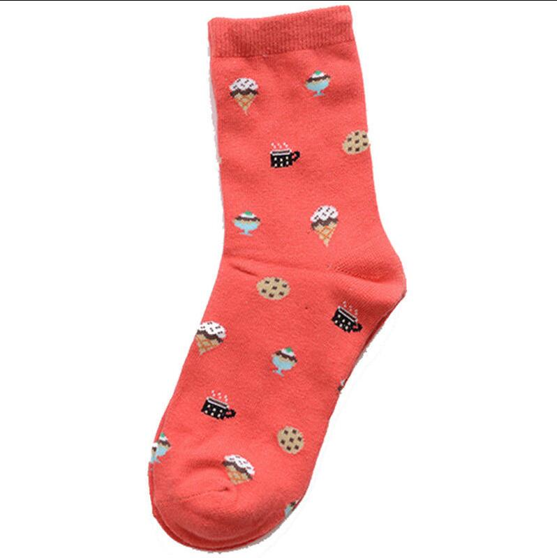 Personnalisé Chaussettes Tricot Unisexe Drôle Sushi Coton Chaussettes cadeaux haute cheville