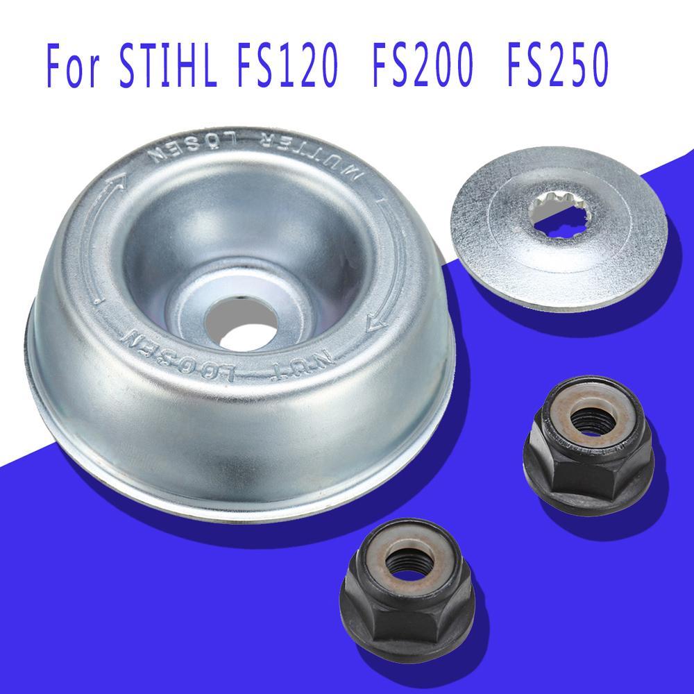 Strimmer Metal Blade Fixing Kit For STIHL FS120 FS130 FS130R FS200 FS200,FS250