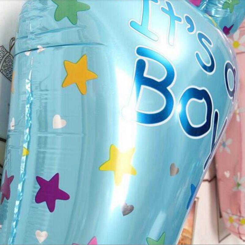 1pcs Boy Girl Lovely Feet Ballon Baby Shower Foot Foil Balloons Party Decoration