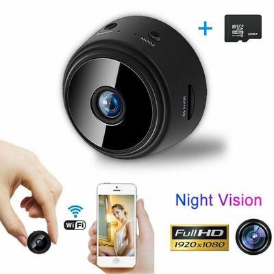Mini Camera Wireless Wifi IP Security Camcorder HD 1080P DV Hidden Night Vision