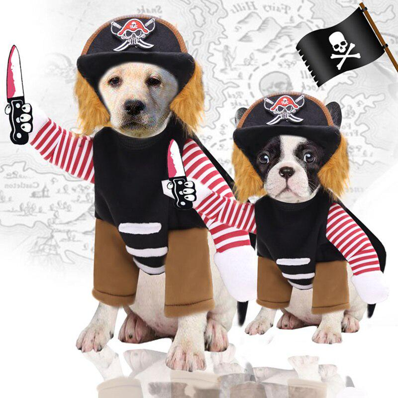 Adjustable Dog Cosplay Costume Cartoon Pet Clothing Pet Supplies Halloween Costume for Pet Funny Pet Clothes Lovely Pet Dog Cat Sweater