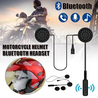 63fc93c0130 Helmet Intercom Motorcycle Headset Wireless Bluetooth Speaker Music For MP3  MP4