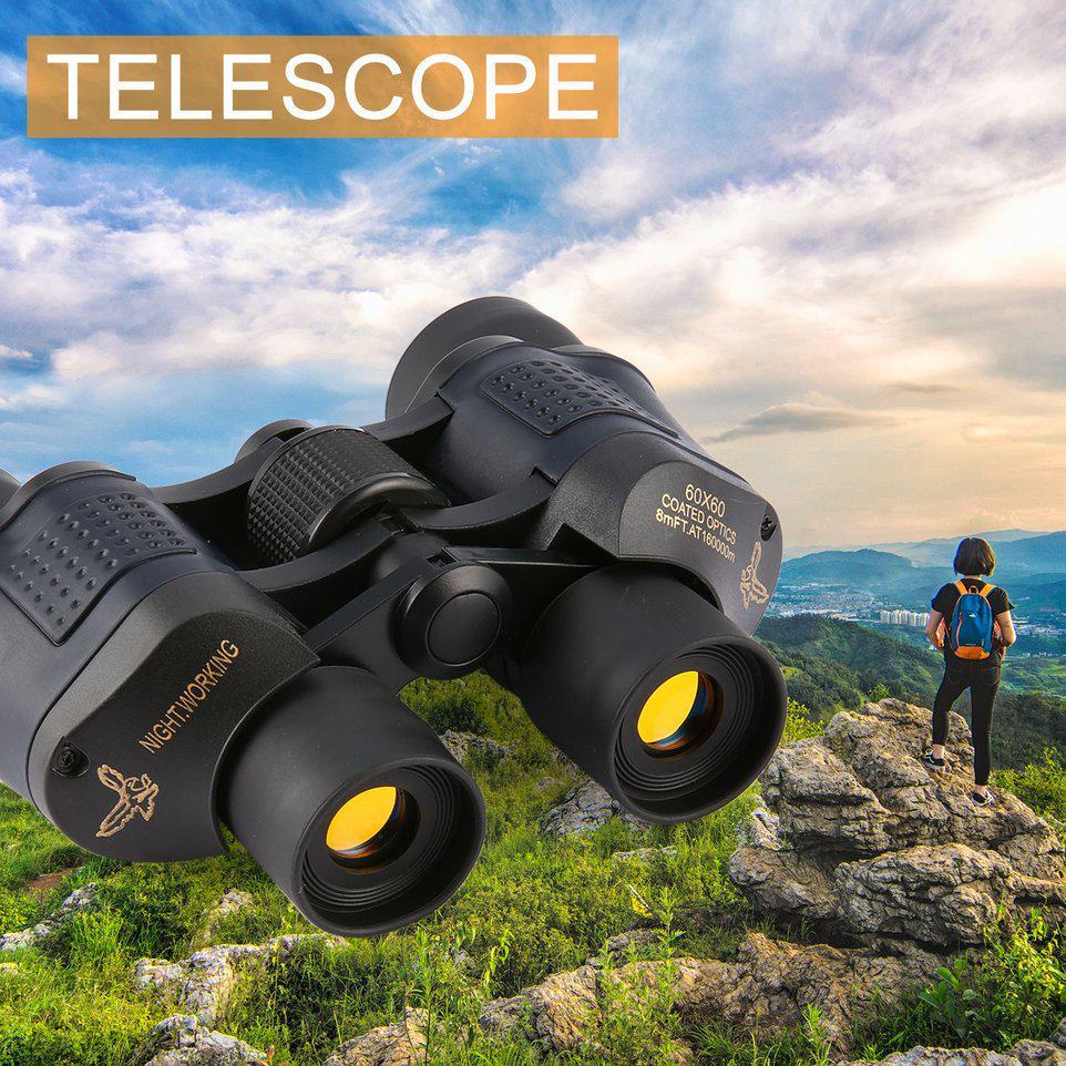 ФАС Хион 60 x 60 16000 M HD охота бинокль телескоп ночного видения для путешествия, туризм – купить по низким ценам в интернет-магазине Joom