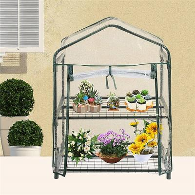 PVC Plants Warmhouse Garden Tier Greenhouse Cover-buy at a