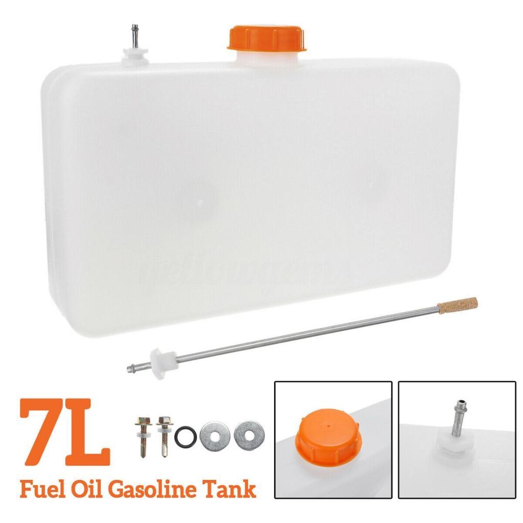 10L Plastic Fuel Oil Gasoline Tank Car Truck Air Diesel Parking Heater Universal 10 Liters 3 Hole Fuel Tank