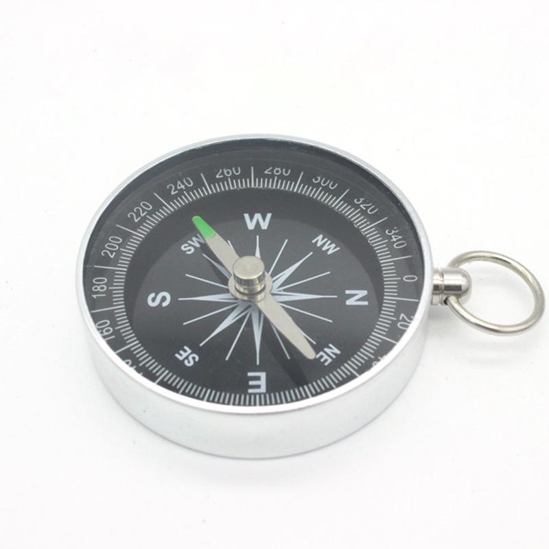 Алюминий Открытый Поход Легкий Дикий Выживание Профессиональный компас Навигация инструмент фото