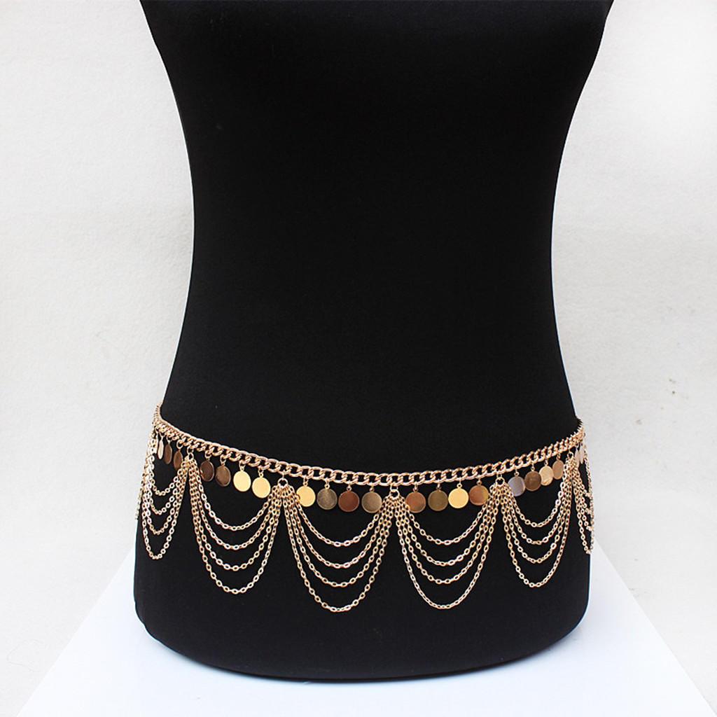 o noua sosire preturi de lichidare oficial Etnice stil bijuterii Retro Punk Belly Dance corpul colier burta Lanţ -  cumpărați cu prețuri reduse din magazinul online Joom