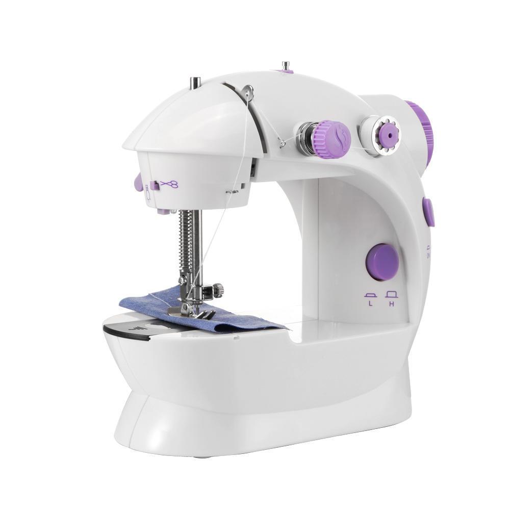 Máquina de coser eléctrica medida Portable 2-velocidad