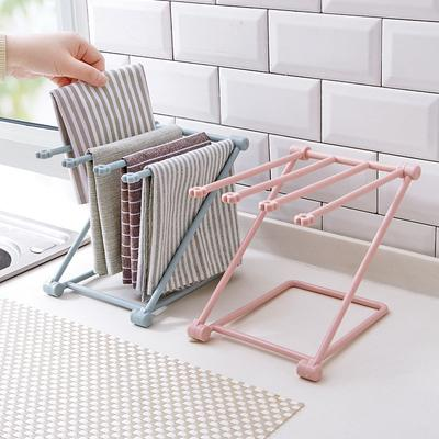 Towels Hanger Storage Rack Cup Holder Foldable Vertical Durable For Rags Kitchen Buy At A Low Prices On Joom E Commerce Platform