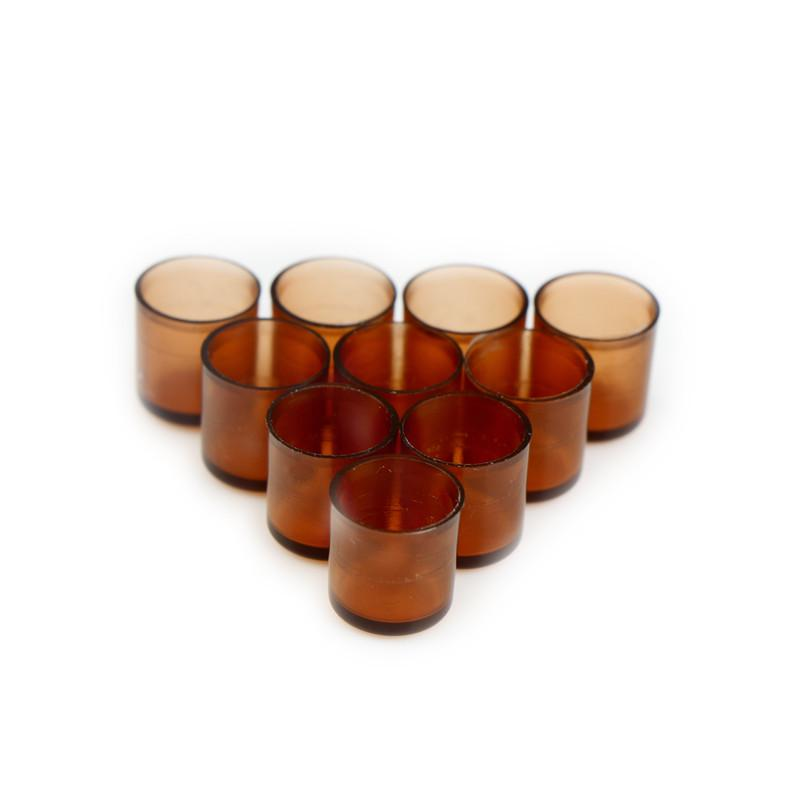 120 PCS Beekeeping Queen cell Brown Bee Feeding tools Applicable to beekeepers