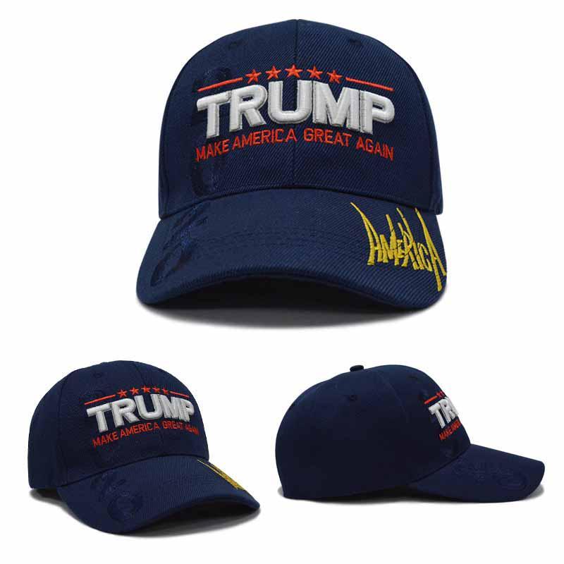 Moda Unisex bandera americana sombrero hacen América grande otra vez ... b9d56e2e385